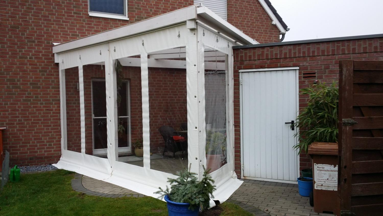 Plane Für Terrasse rollfenster terrassenvorhänge